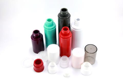 Cosmetic bottle plastic parts